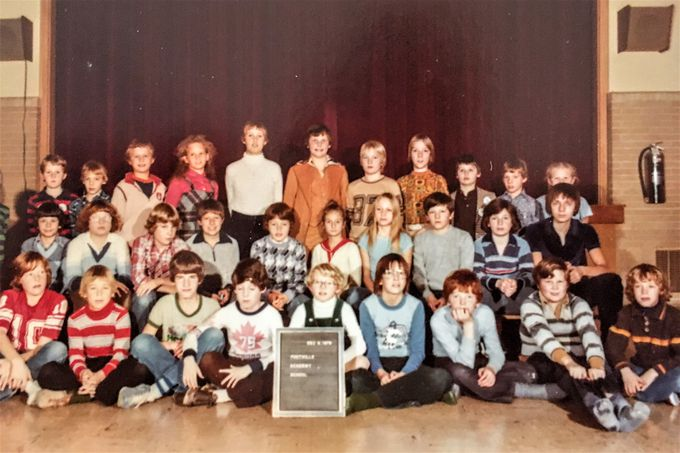 Foothills Academy 1979 first students