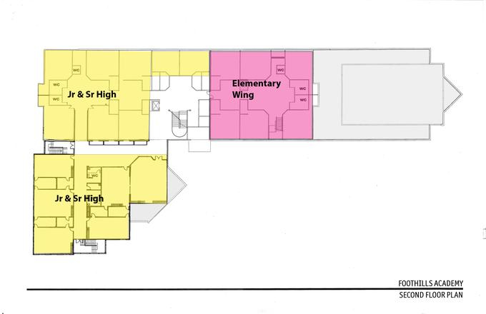 Building Floor Plan 2nd Floor
