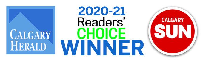 Calgary Herald Readers Choice Award 2020