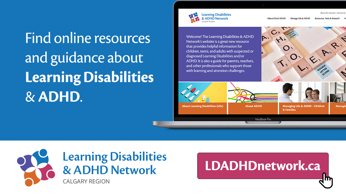 Learning Disabilities and ADHD Network Advertisement